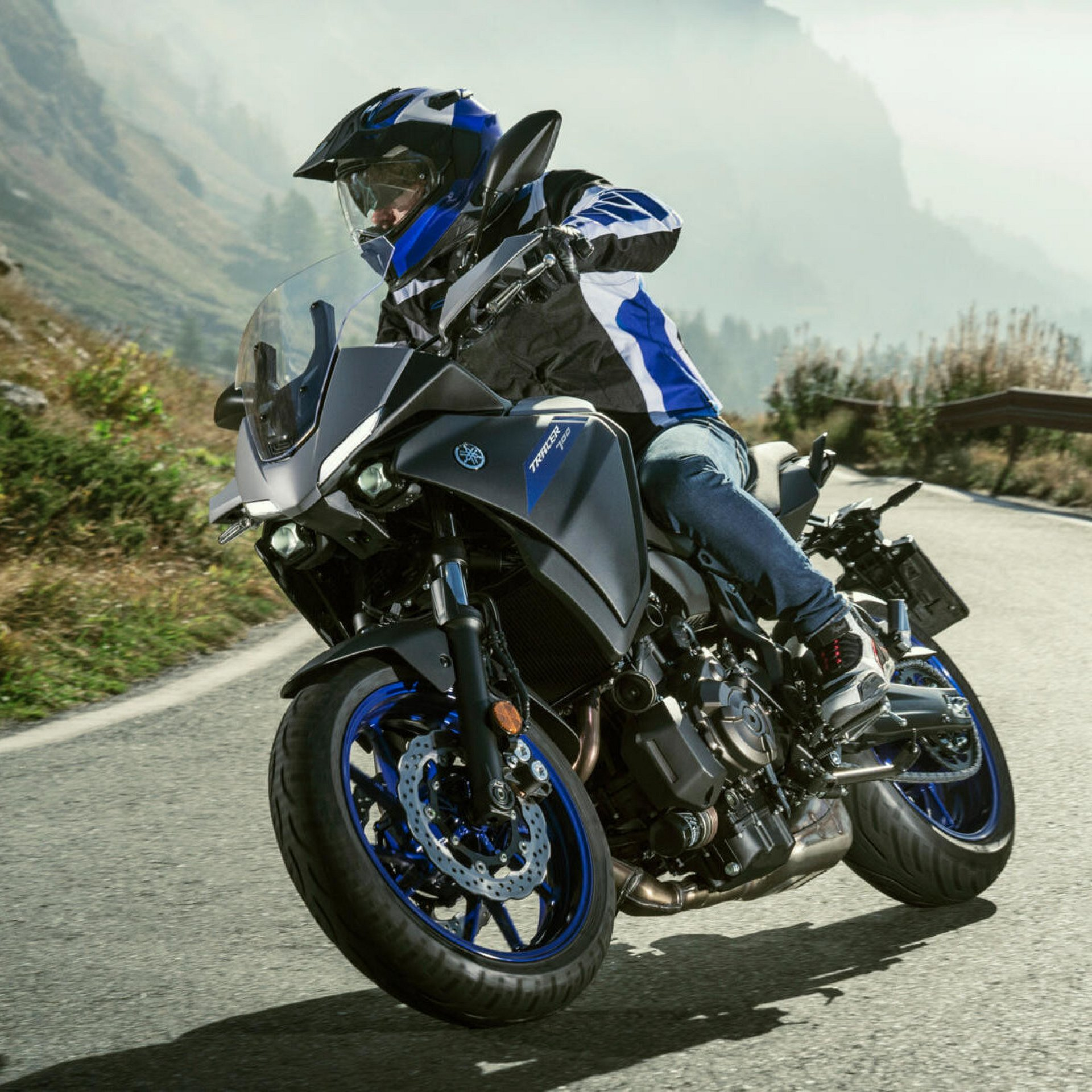 View the brand new and more aggressive 2020 version the Yamaha Tracer 700.