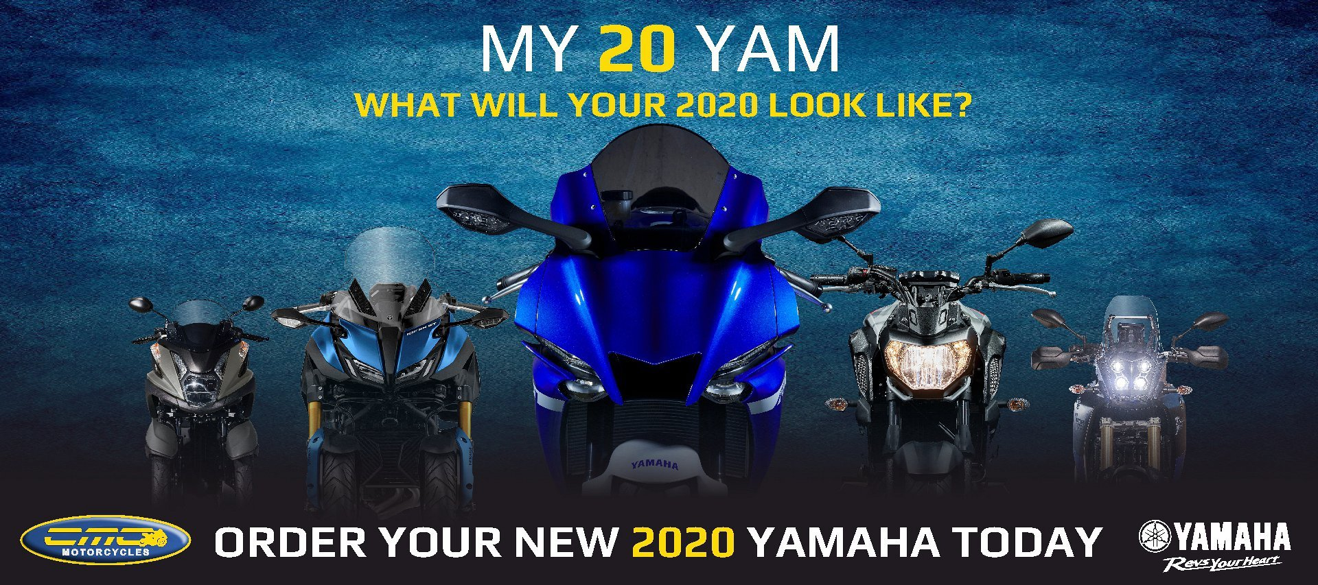 Order you new Yamaha ready for the season