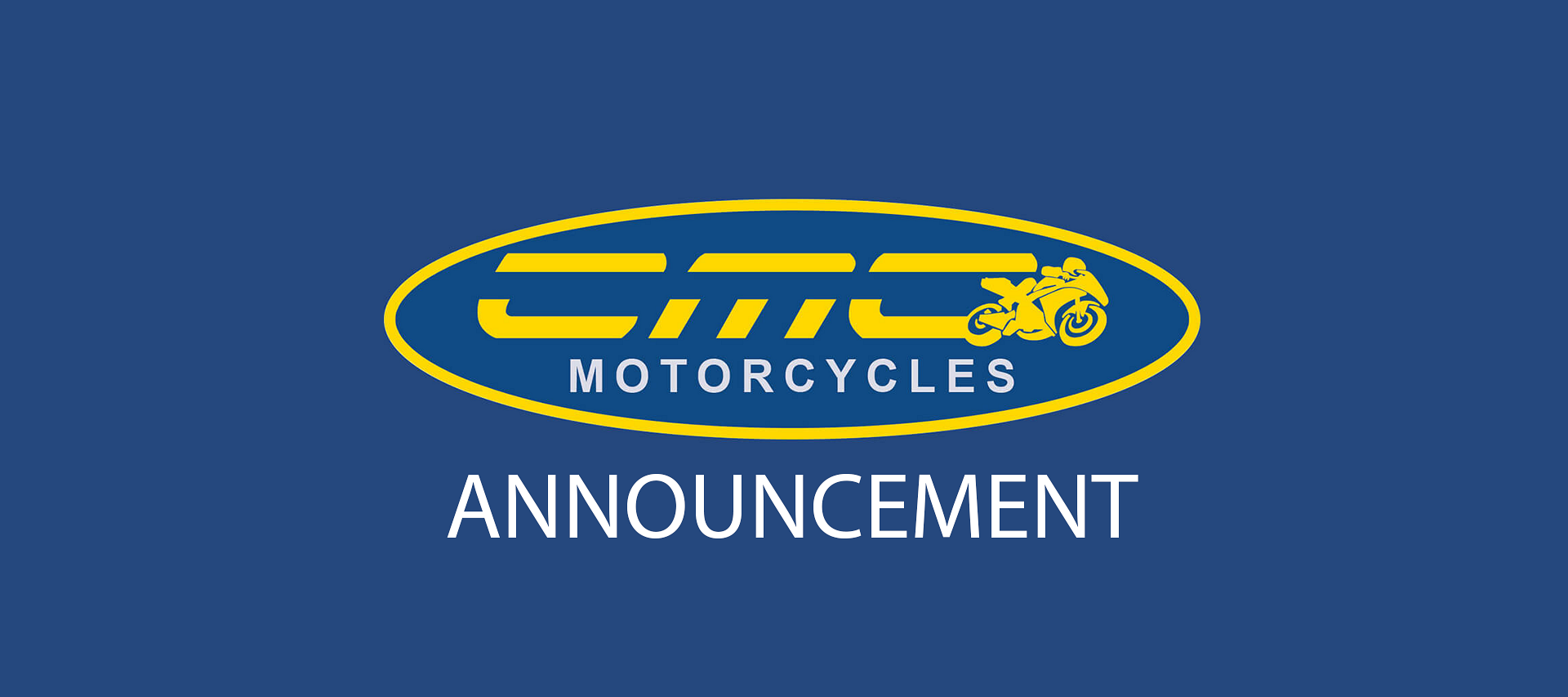 We will be announcing during the next week our plans for CMC and our dealerships at Cannock, Chesterfield, Coleshill, Manchester and South Wales.