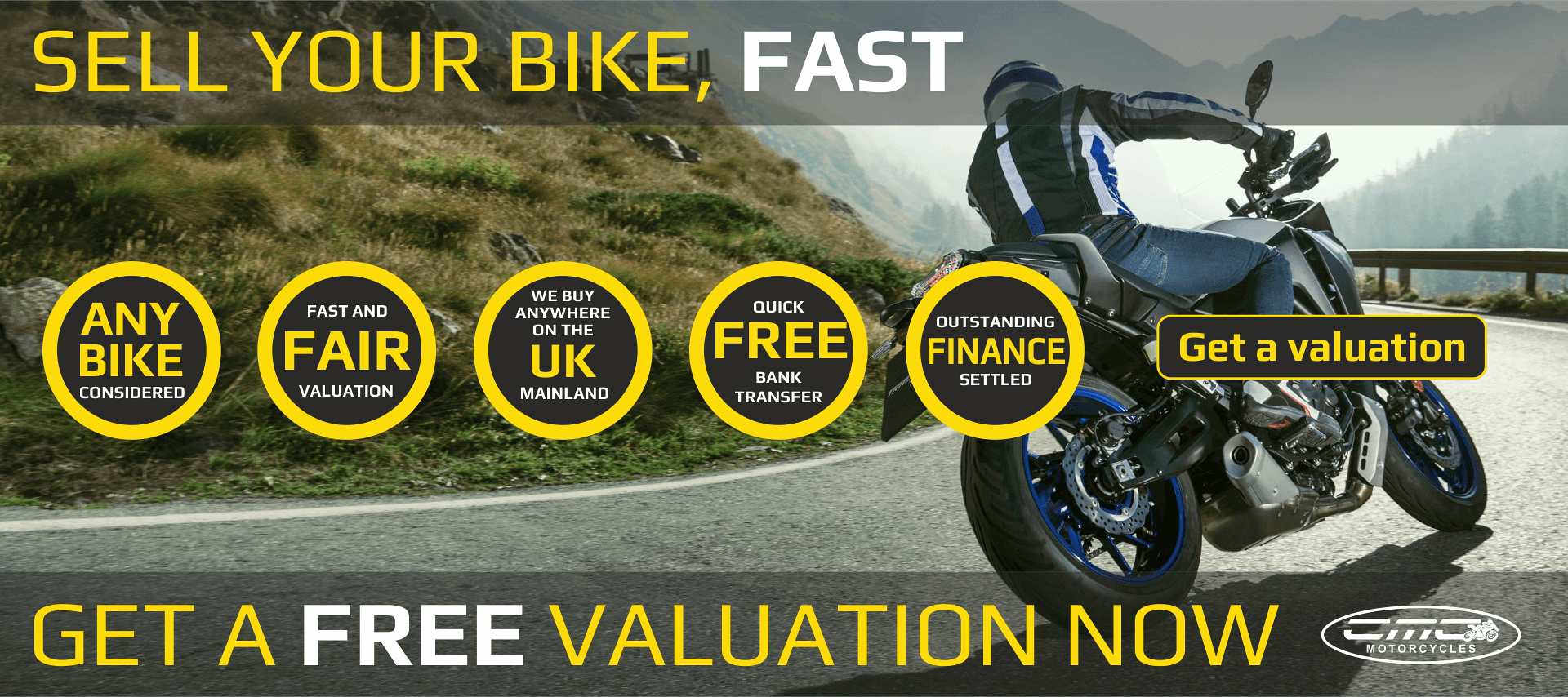 Sell your bike, fast!