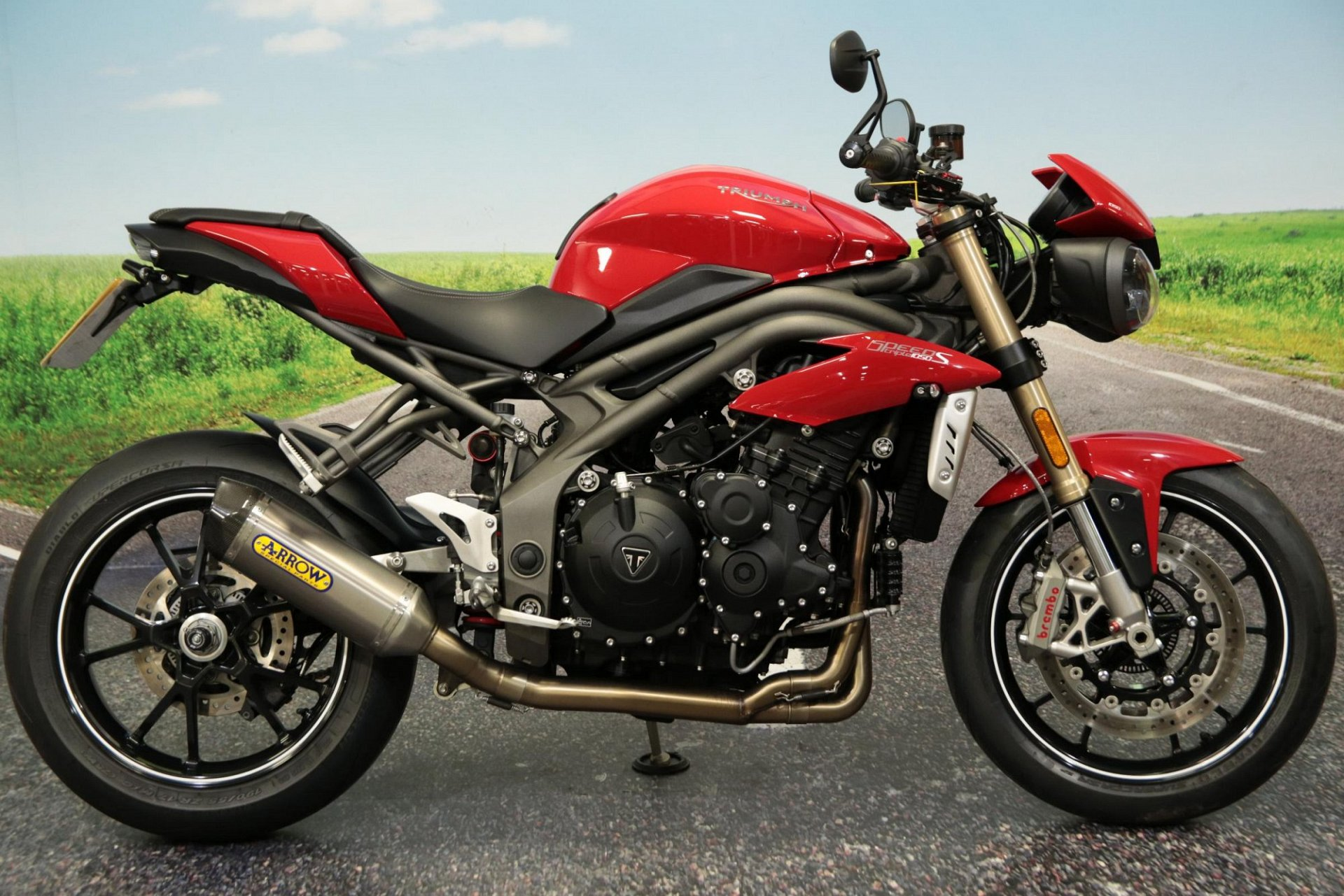 2018 Triumph Speed Triple S for sale in South Wales