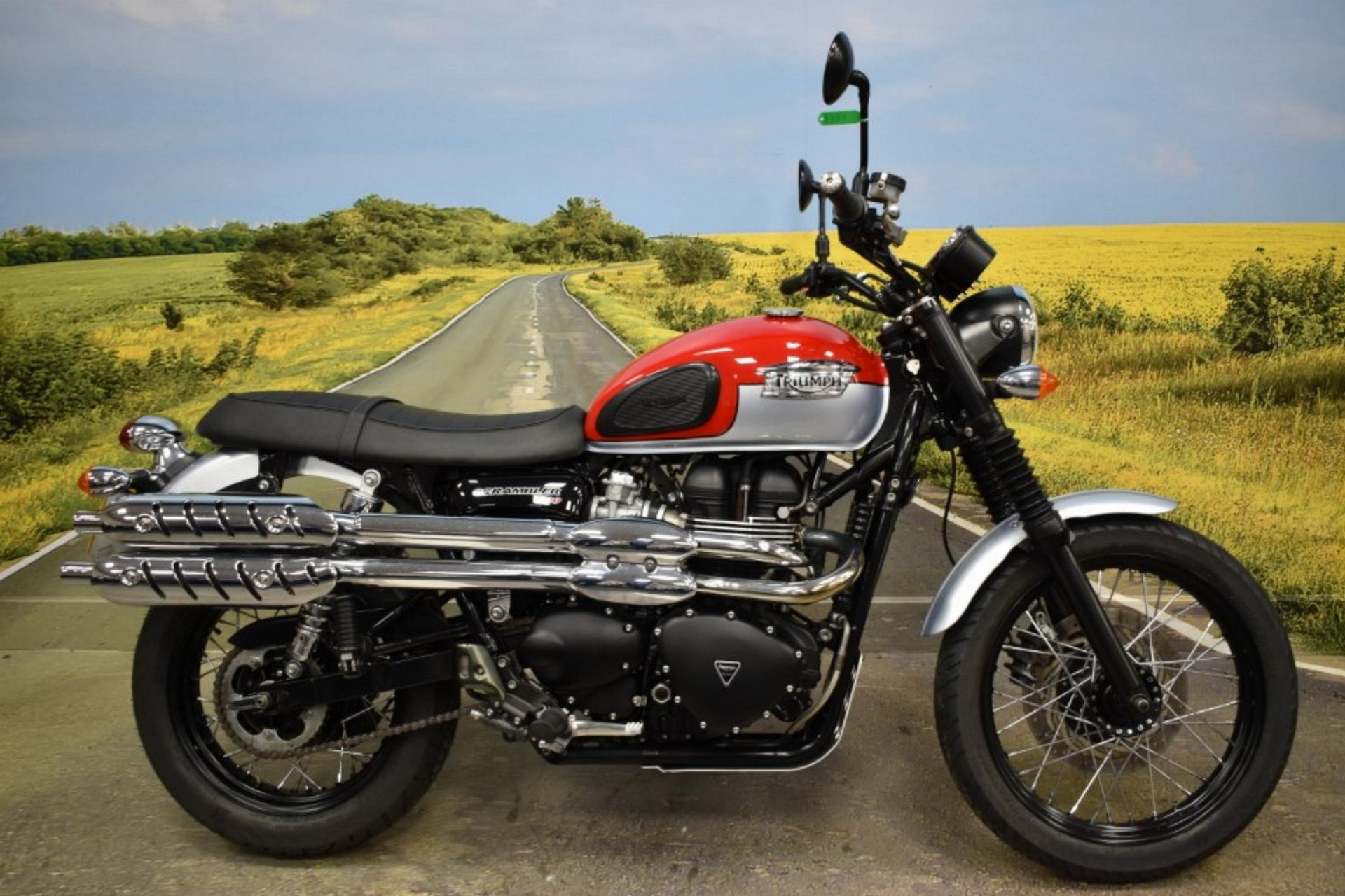 2017 Triumph Scrambler for sale in Derbyshire