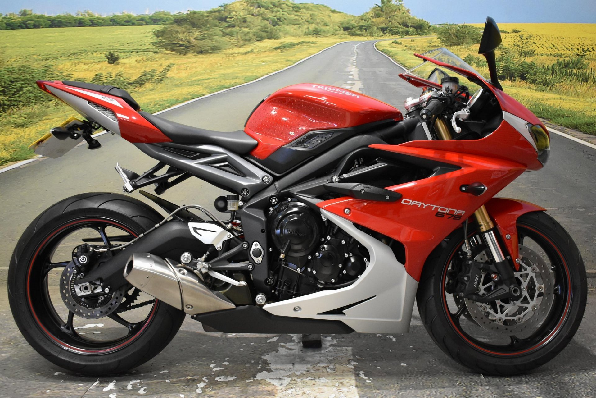 2016 Triumph Daytona 675 for sale in Derbyshire