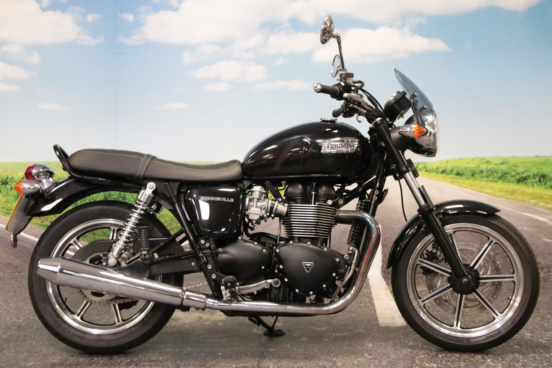 2013 Triumph Bonneville 865 for sale in South Wales