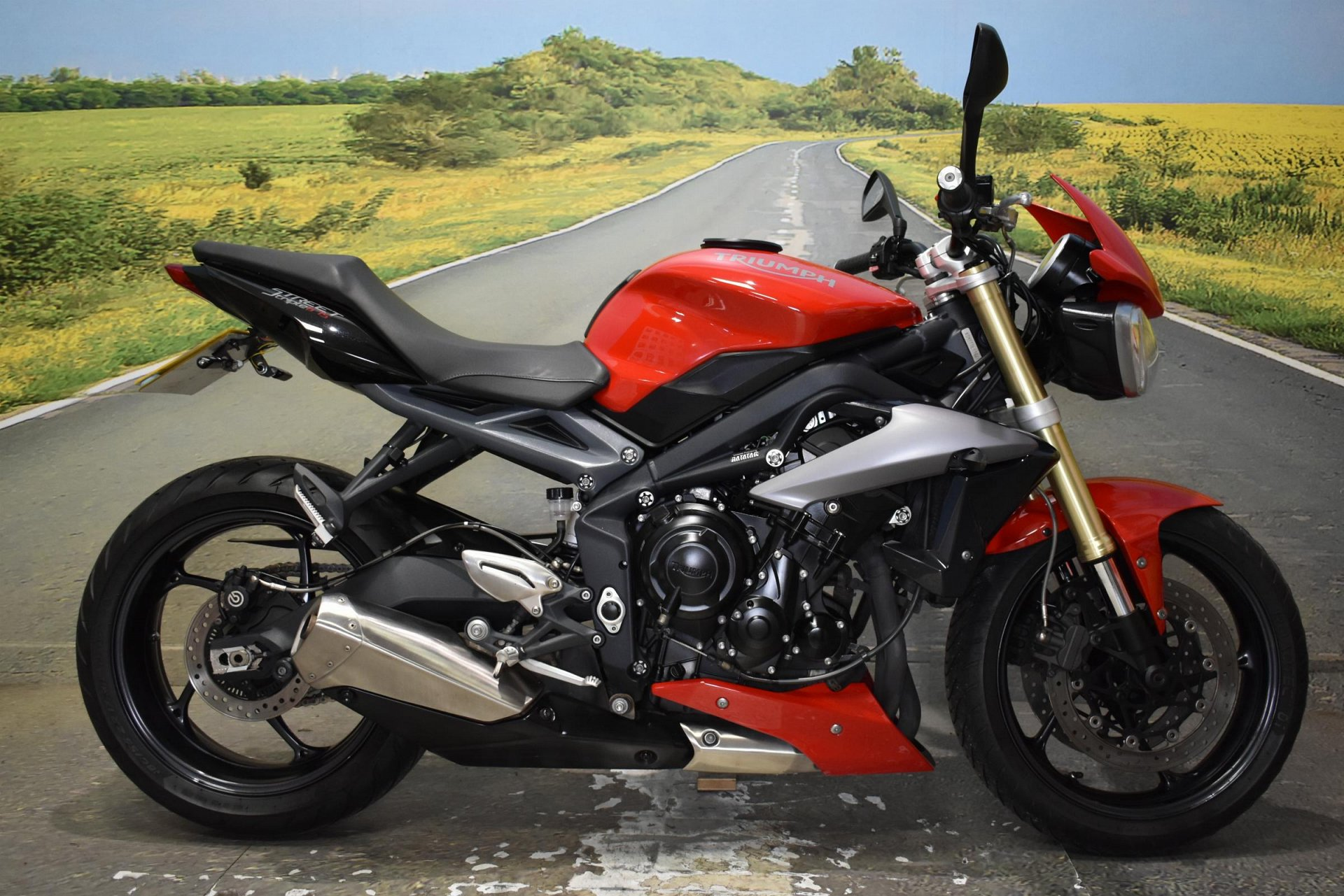 2015 Triumph Street Triple ABS for sale in Derbyshire