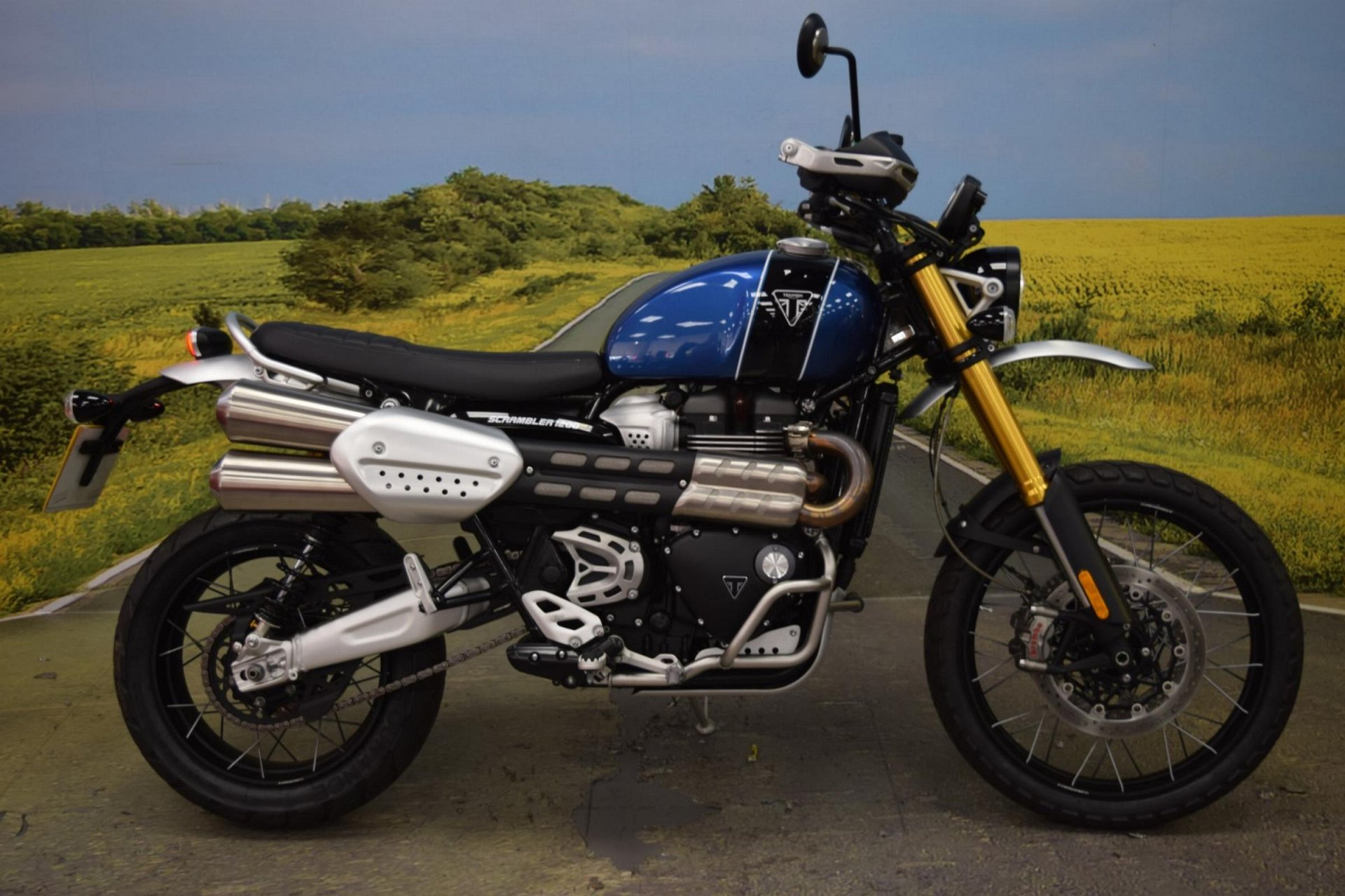 2019 Triumph Scrambler 1200 XE for sale in Staffordshire