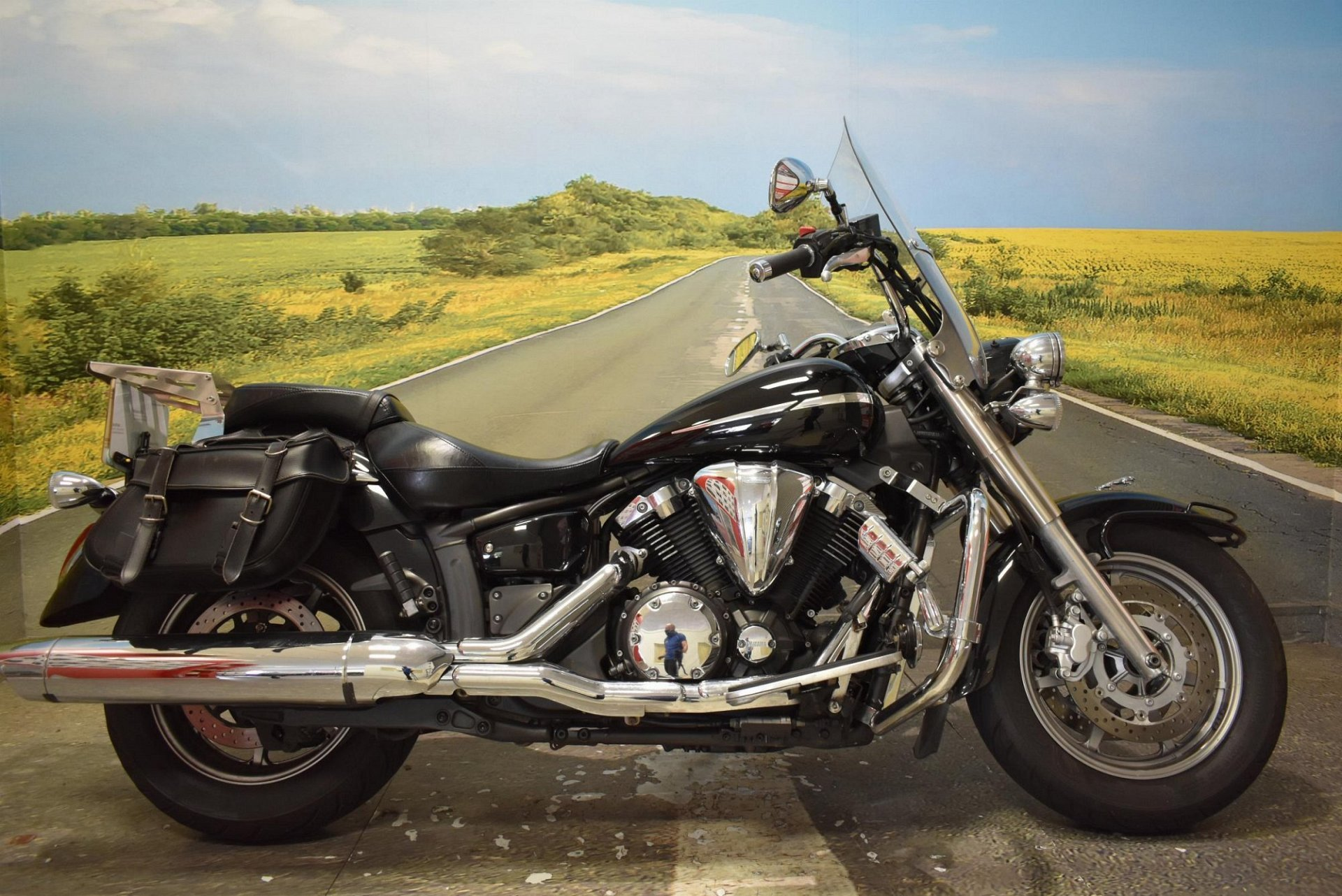 2007 Yamaha XVS1300A Midnight Star for sale in Derbyshire
