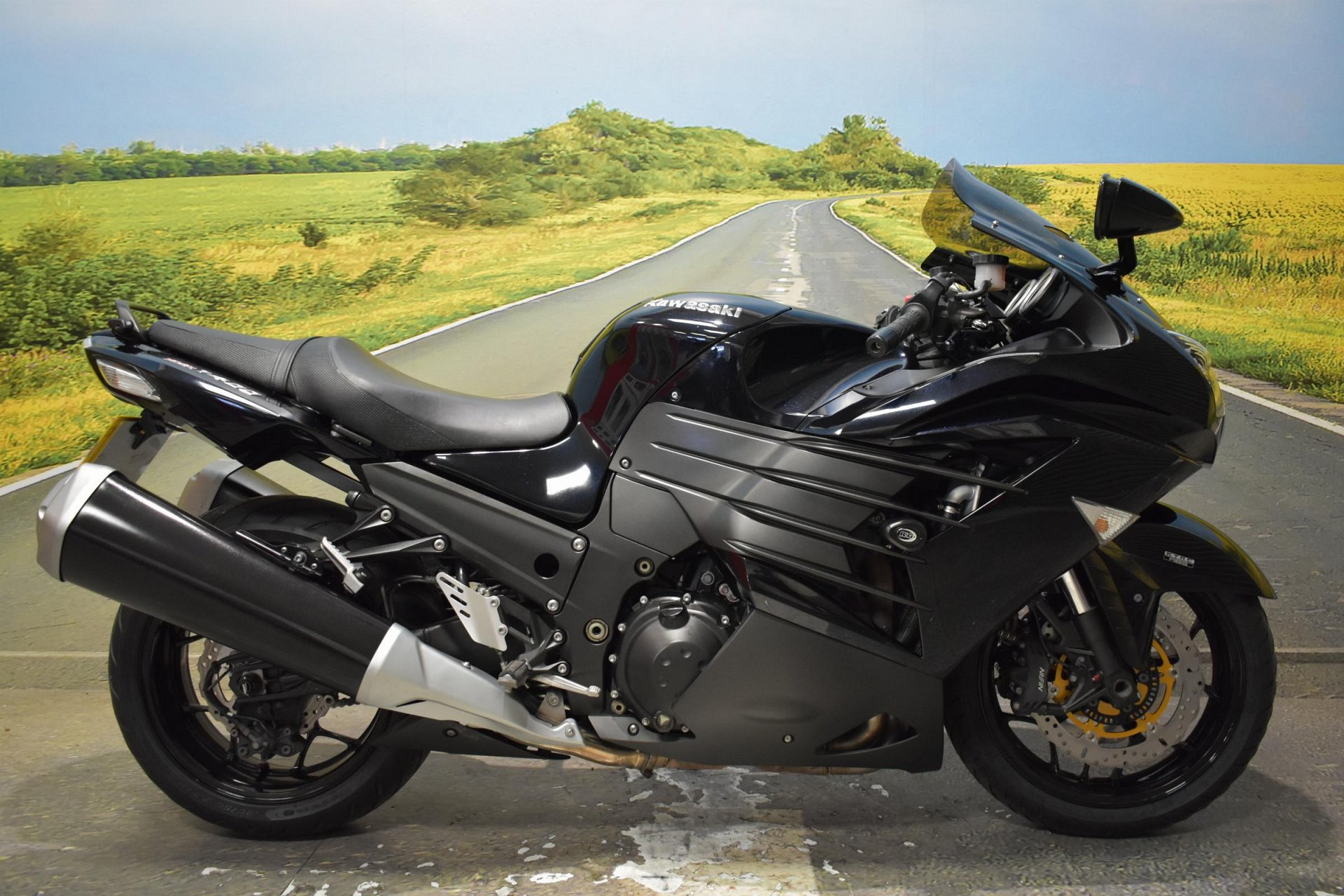 2013 Kawasaki ZZR1400 for sale in Derbyshire
