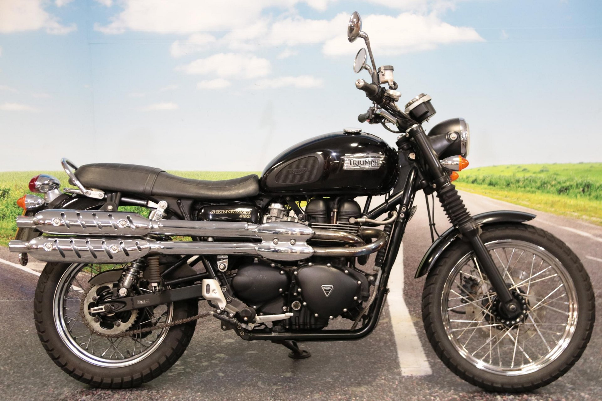2010 Triumph Bonneville Scrambler for sale in South Wales