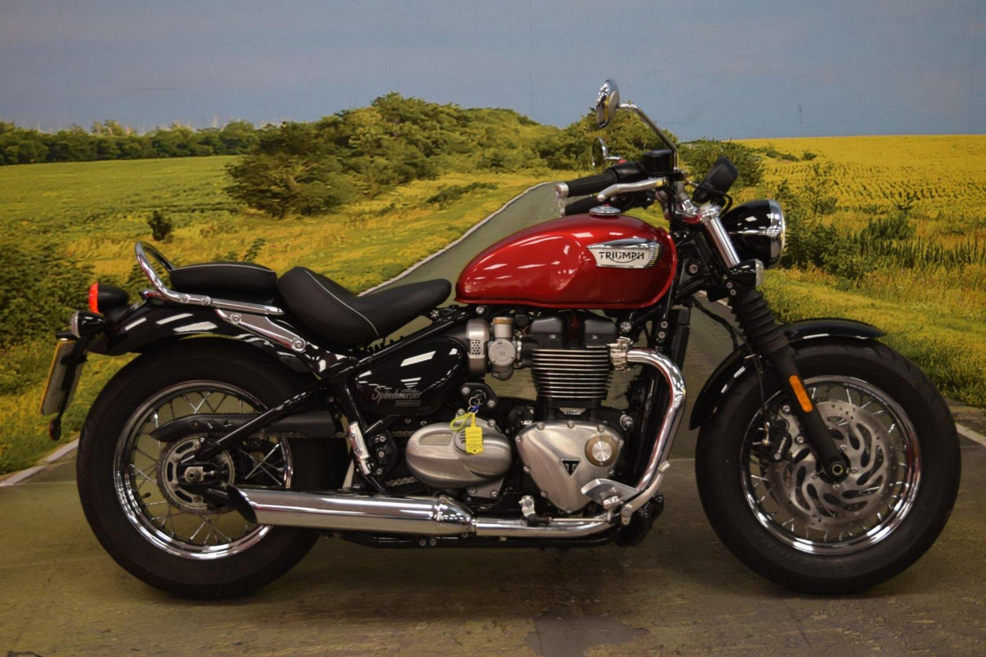 2018 Triumph Bonneville Speedmaster for sale in Staffordshire