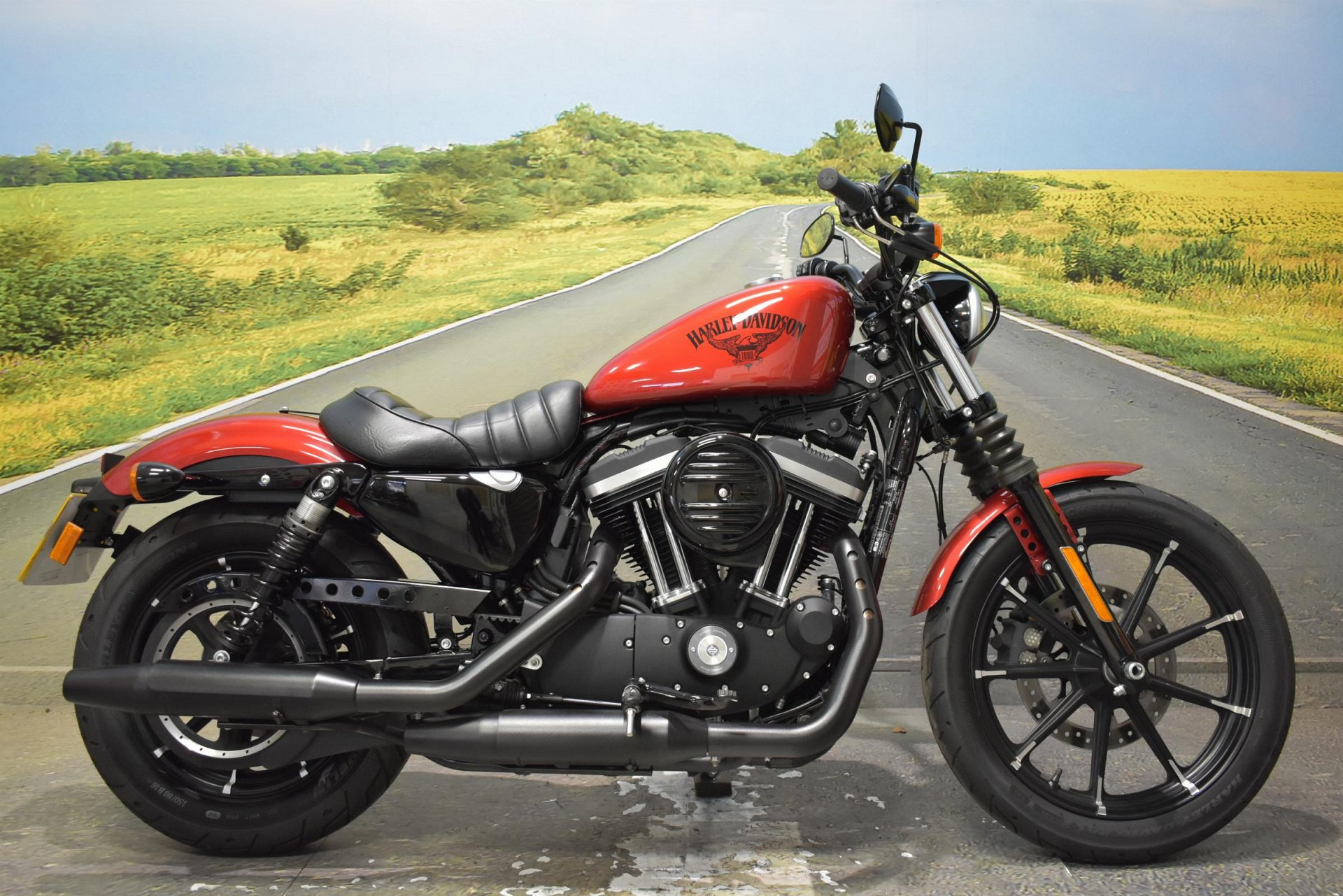 2017 Harley Davidson XL 883N Iron for sale in Derbyshire