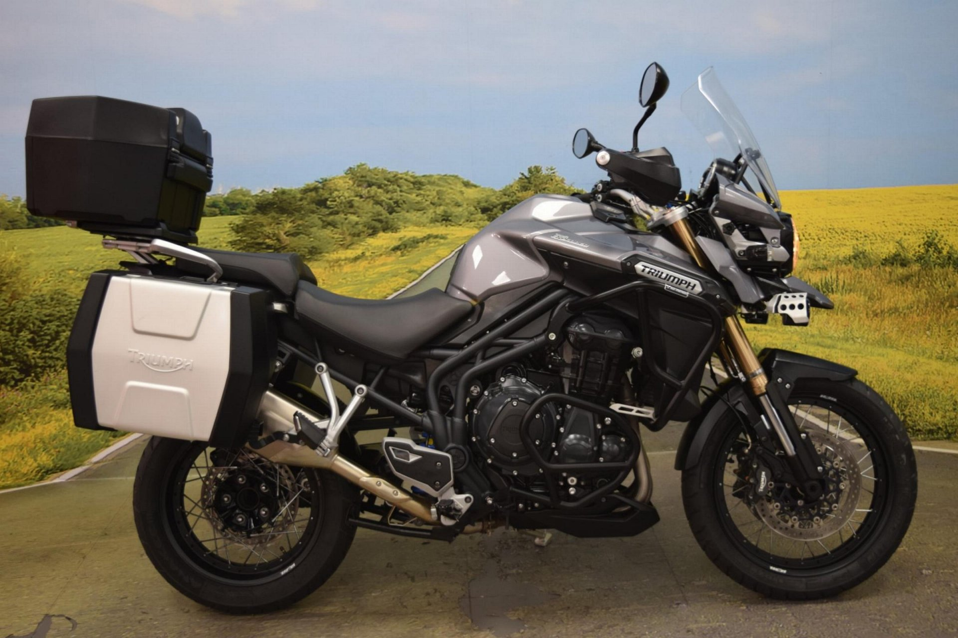 2013 Triumph Tiger Explorer 1200 for sale in Staffordshire