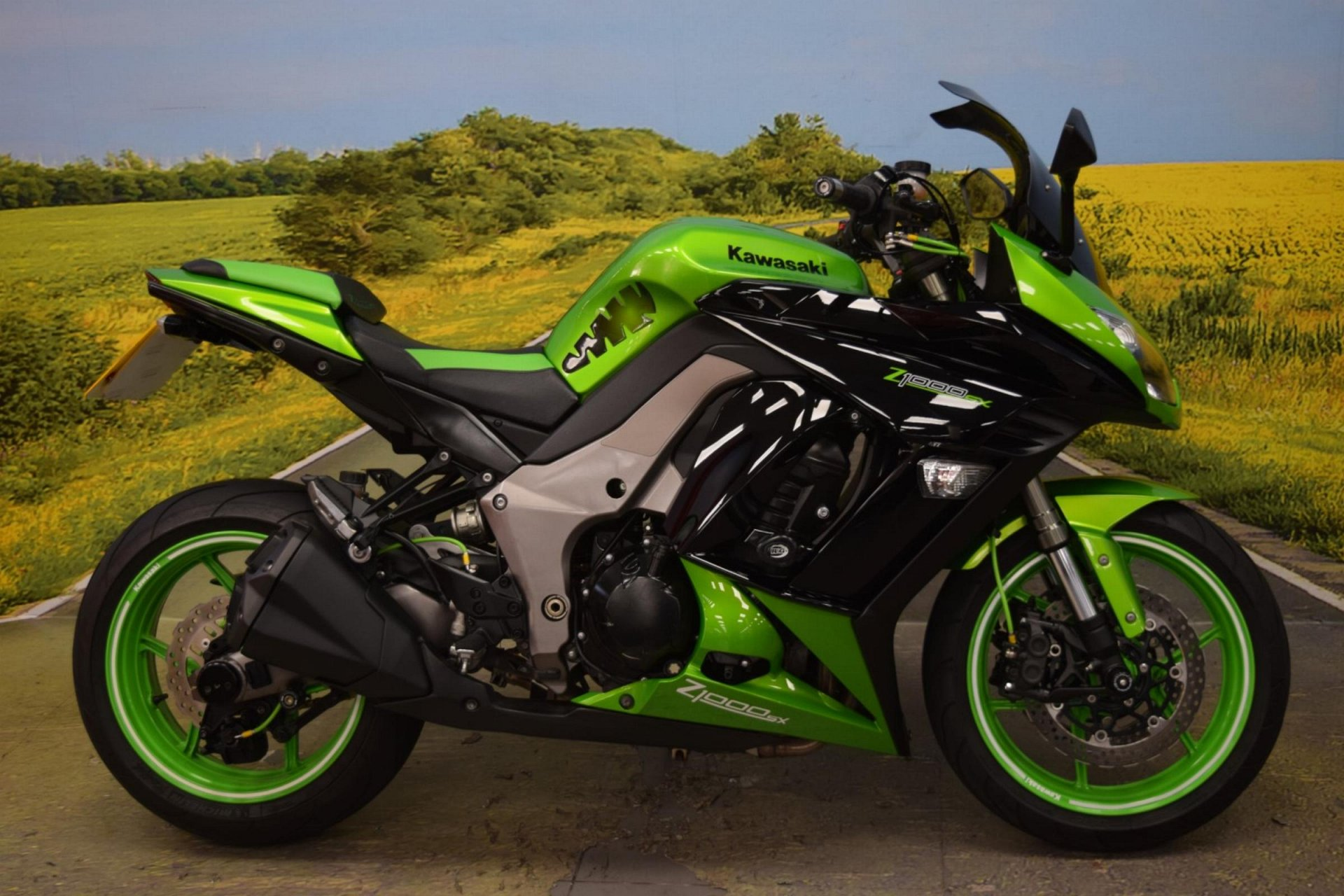 2012 Kawasaki Z1000 SX for sale in Staffordshire