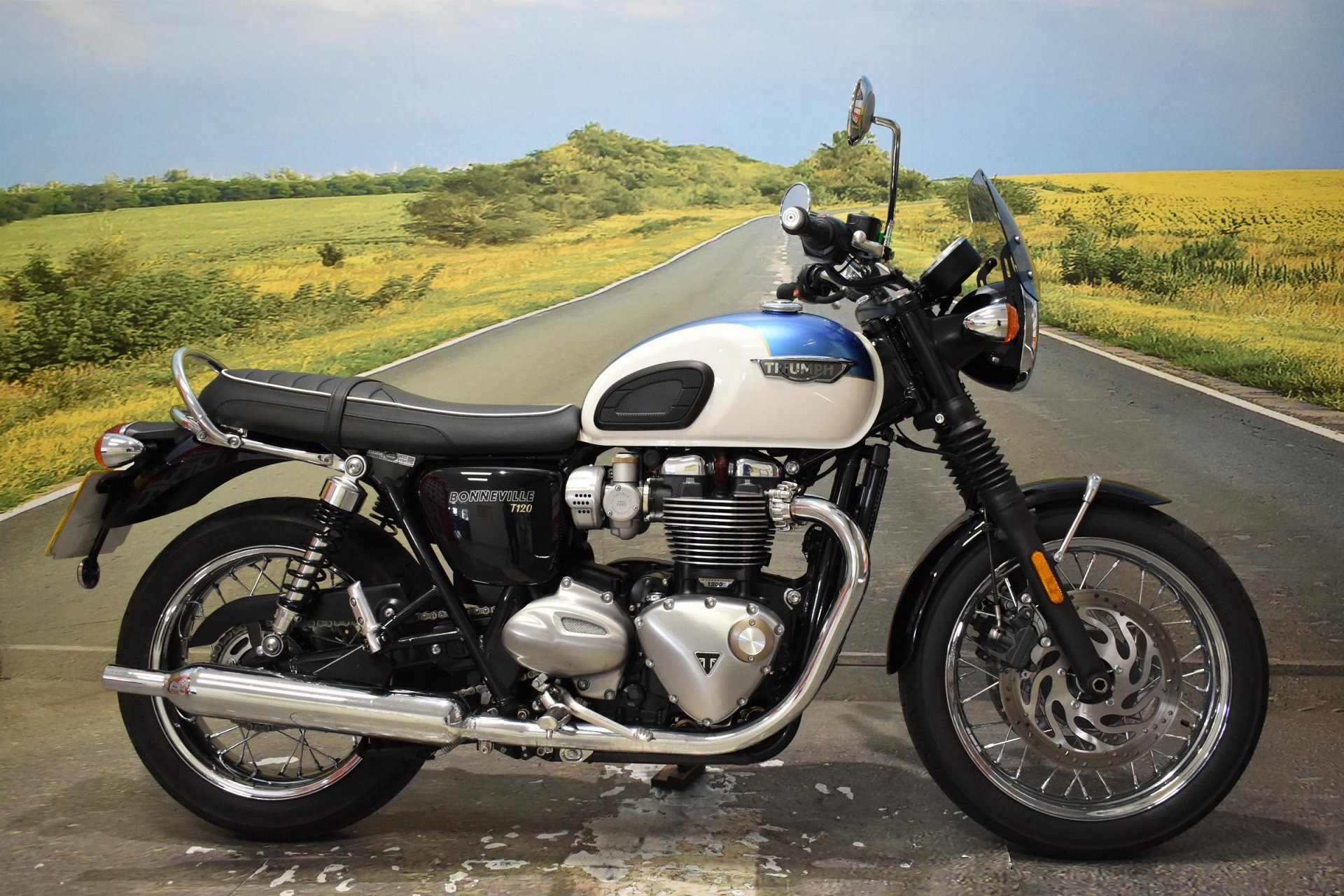 2018 Triumph Bonneville T120 for sale in Derbyshire