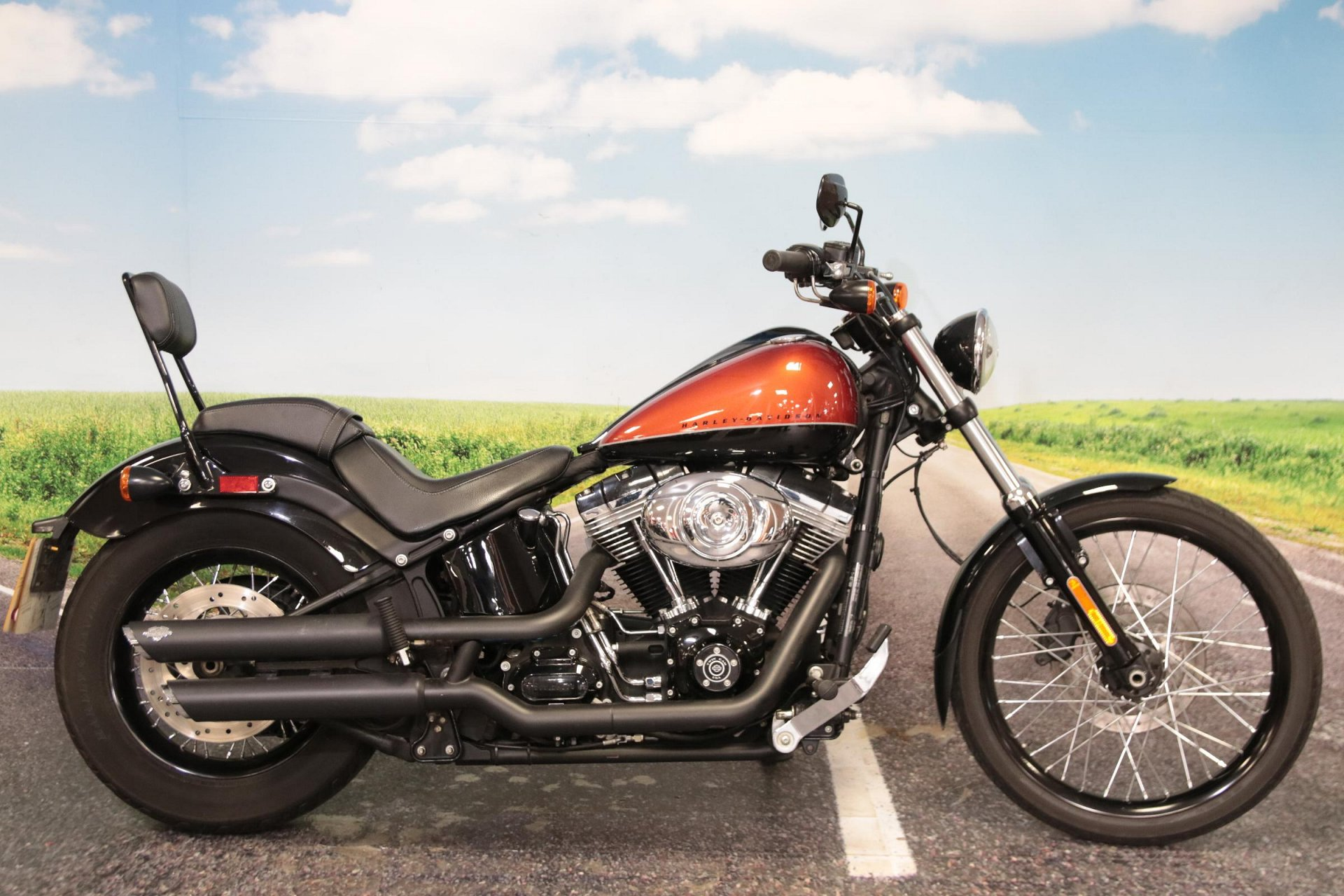 2013 Harley Davidson FXS BLACKLINE 1585 for sale in South Wales