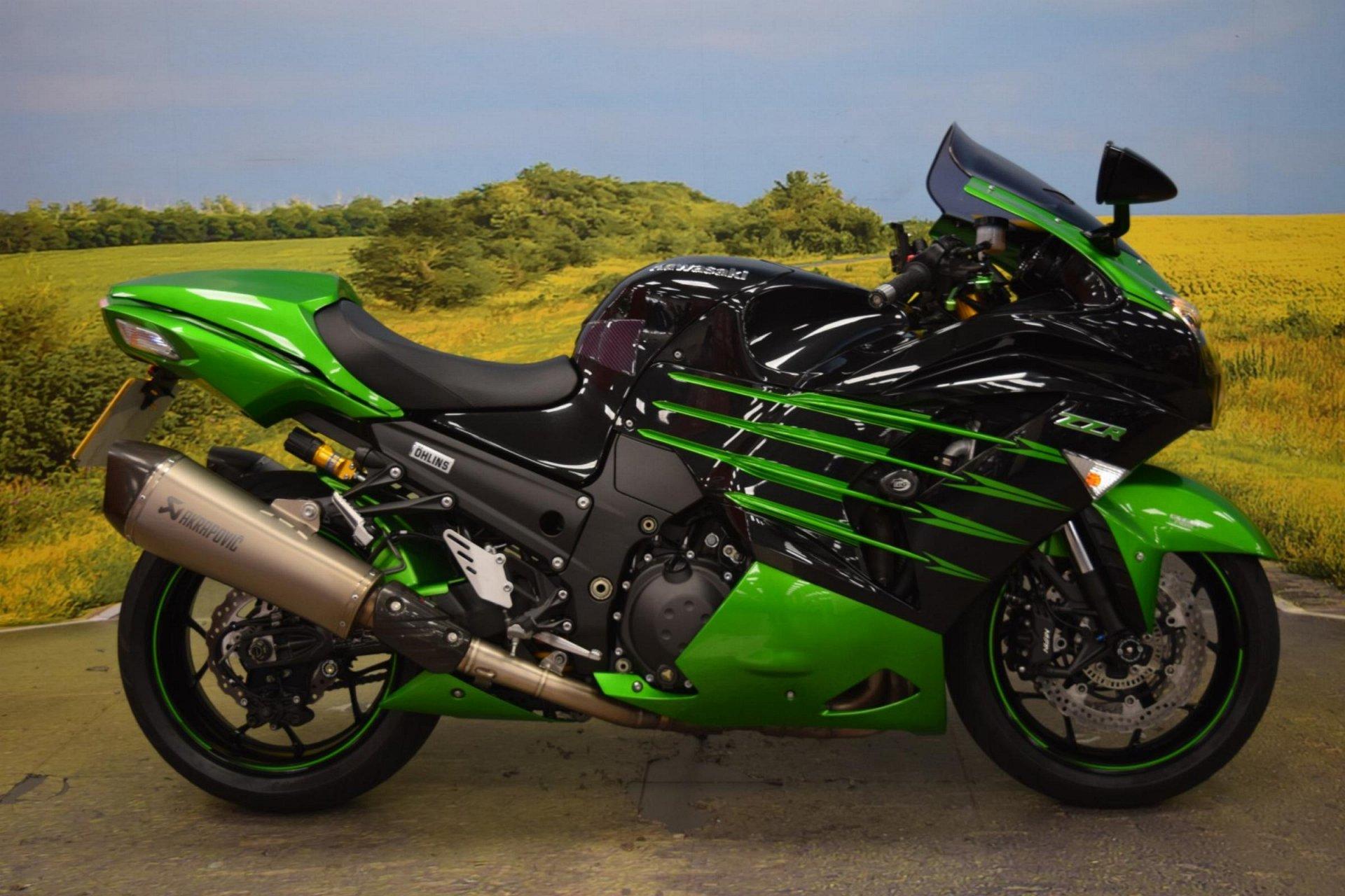 2015 Kawasaki ZZR 1400 Performance Sport for sale in Staffordshire