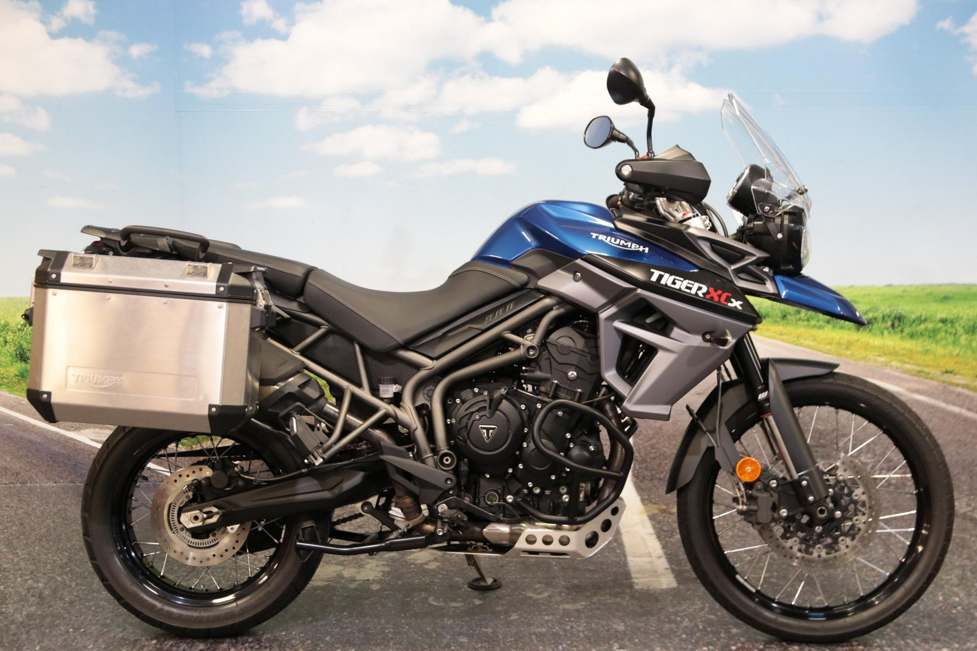 2017 Triumph Tiger 800 XCX for sale in South Wales