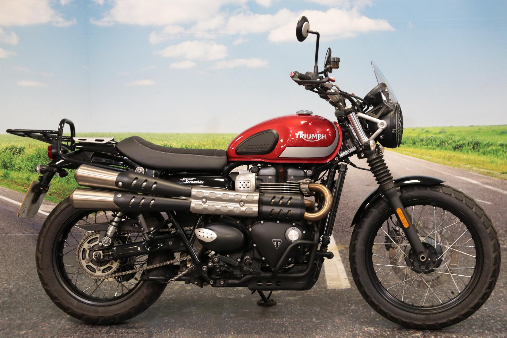 2018 Triumph Street Scrambler for sale in South Wales