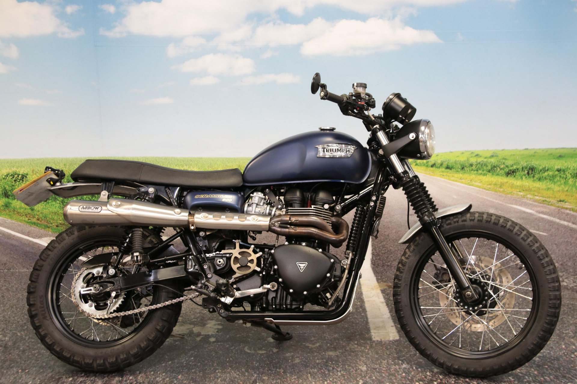 2016 Triumph Bonneville Scrambler for sale in South Wales