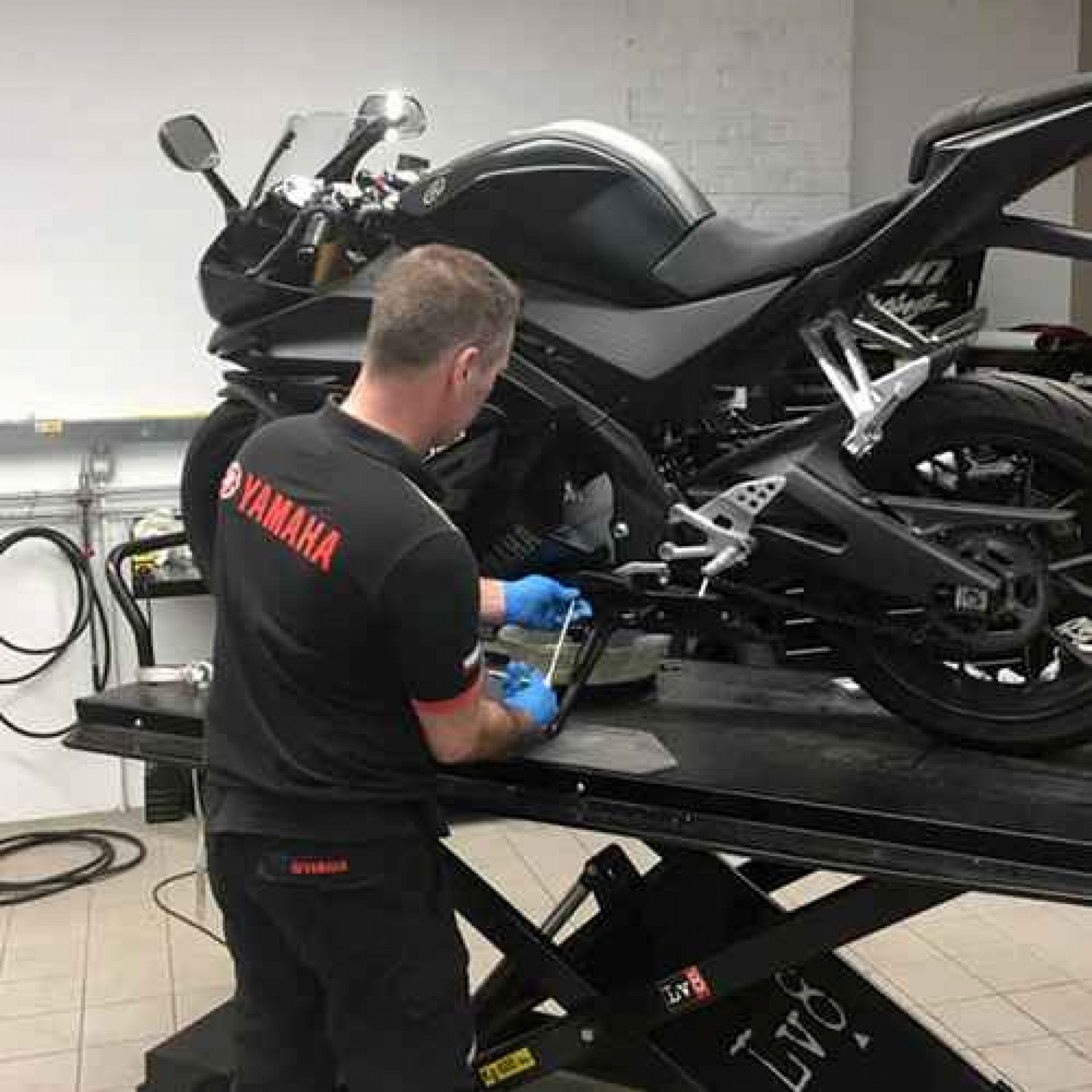 Motorcycle Service & MOT Workshop