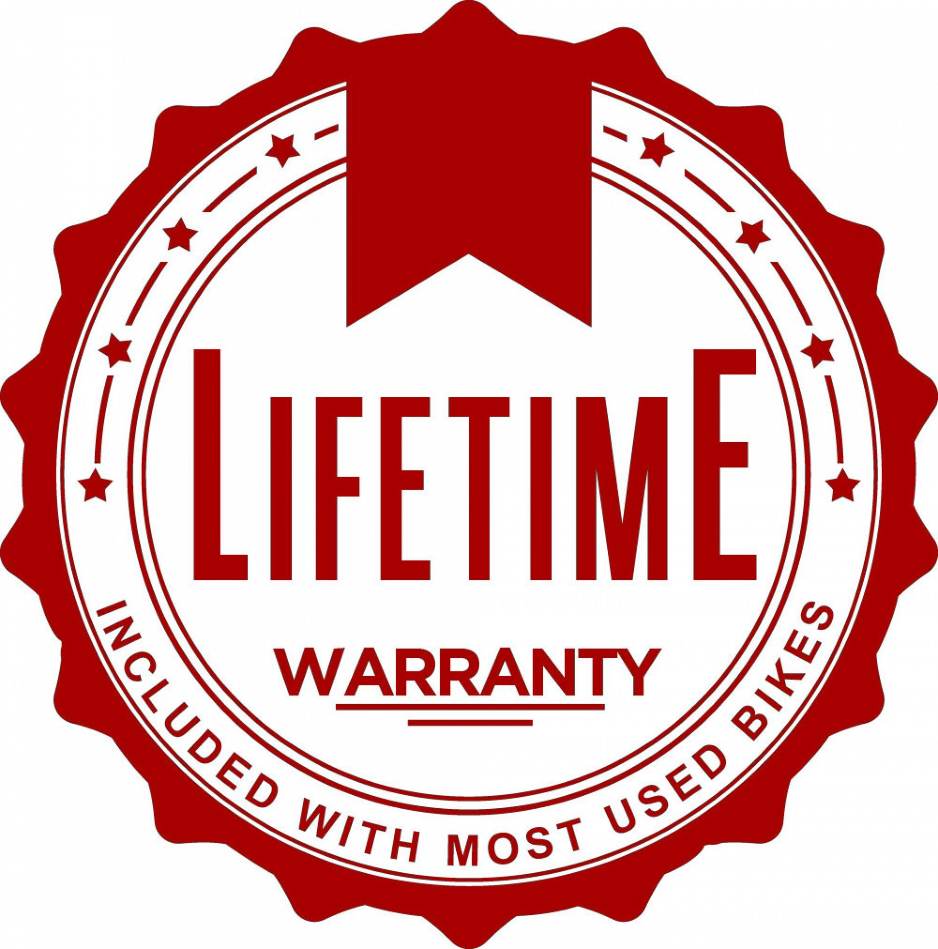 Lifetime Warranty on Used Motorcycles