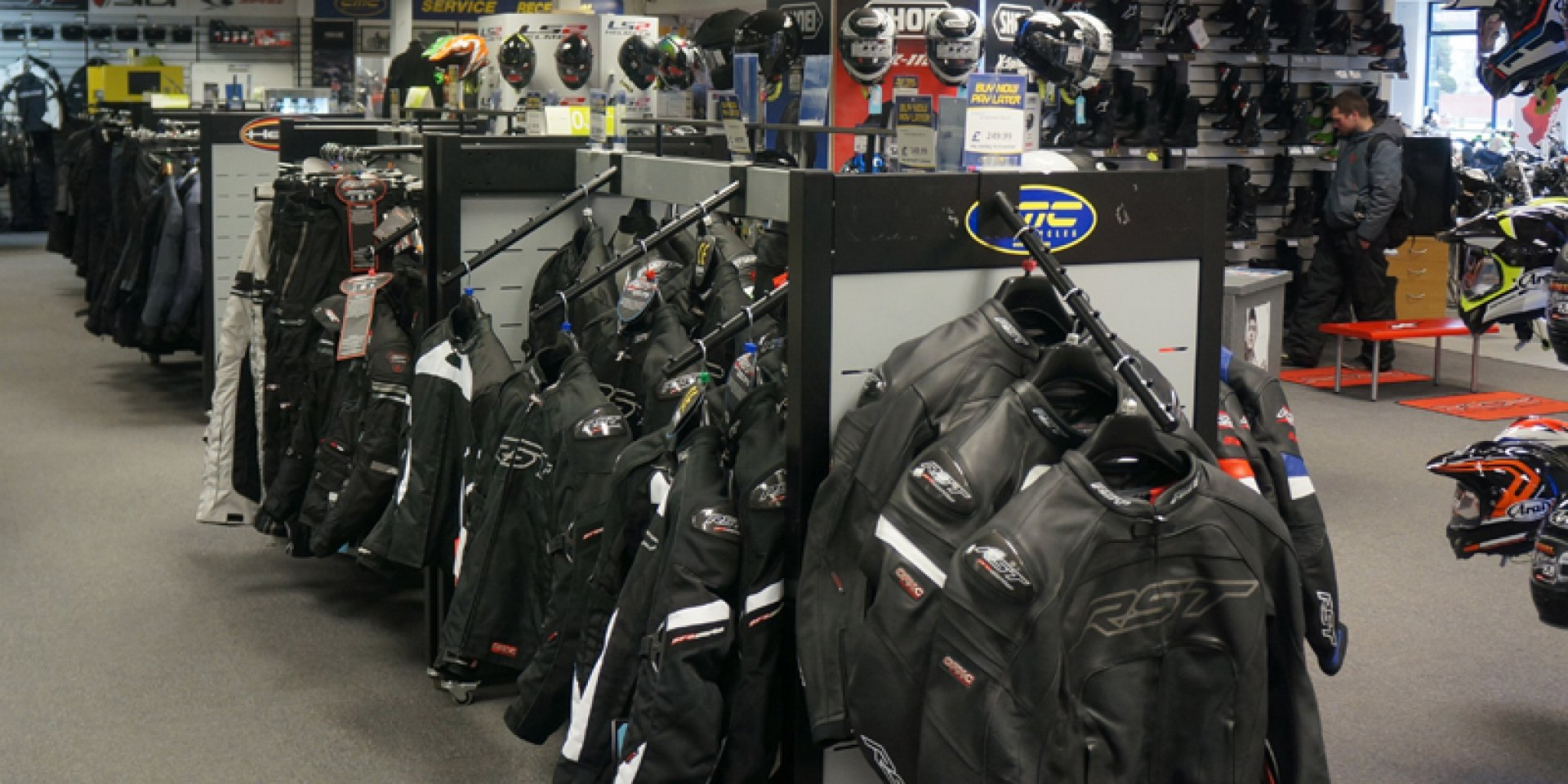 Motorcycle Clothing Shop