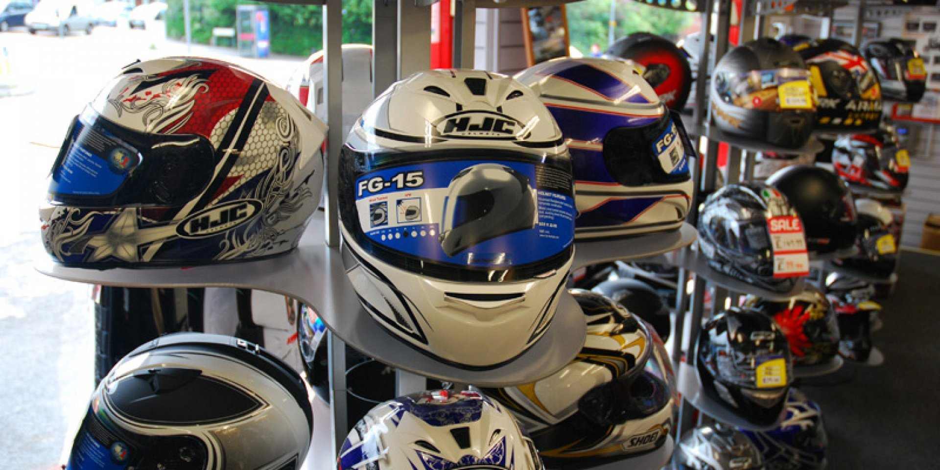 Motorcycle Helmet Shop