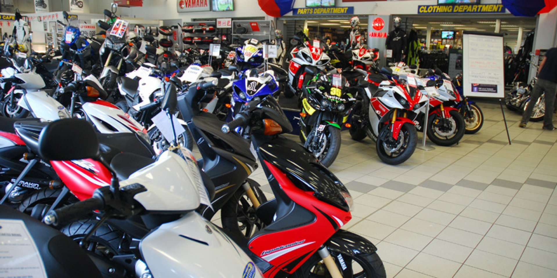 Motorcycle dealer used and new bikes for sale clothing for Yamaha parts dealer near me